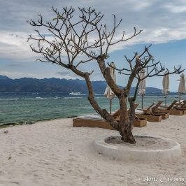 Sandy shores of Gili Trawangan island