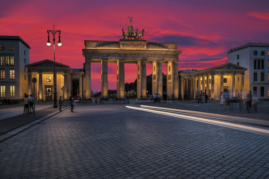 A landmark monument of Berlin - Bradenburg Gate