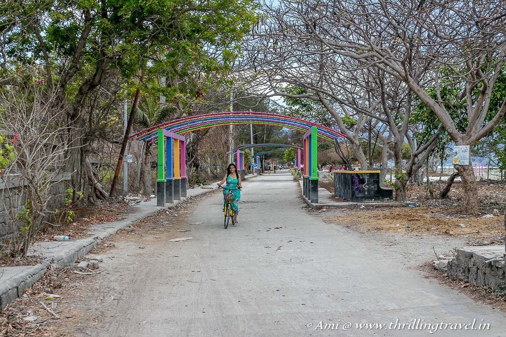My favorite way to get around Gili Trawangan - Cycling