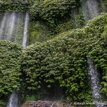 Unveiling the curtains of nature at Benang Kelambu Waterfalls in Lombok