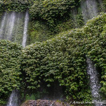 Unveiling the curtains of nature at Benang Kelambu Waterfalls in Lombok