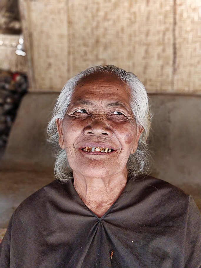 One of the Sasak Ende Village elders