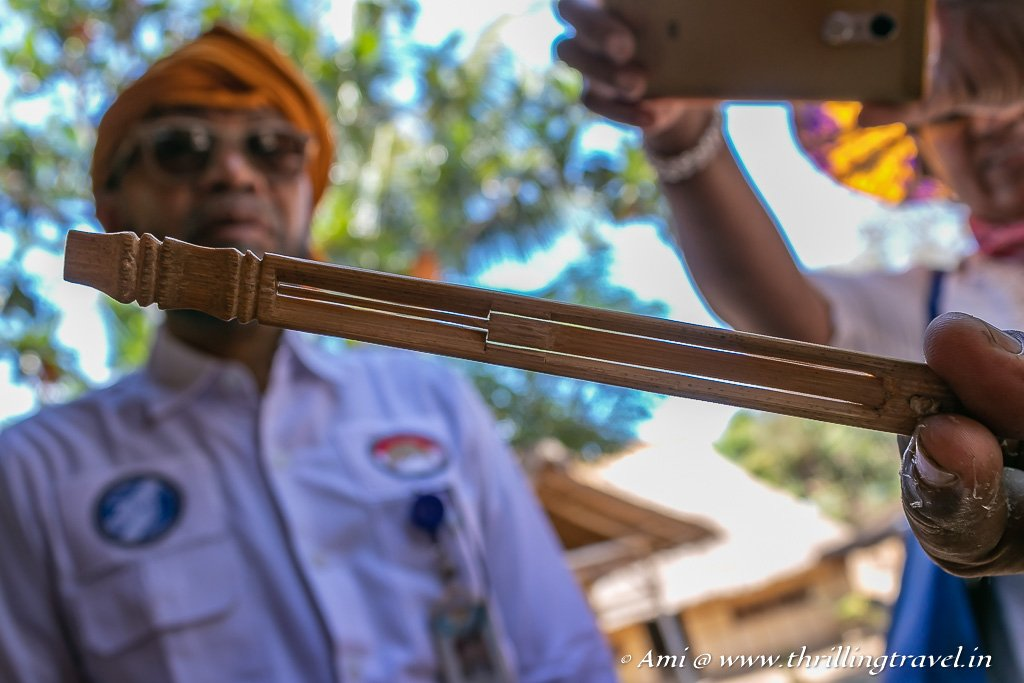 Suling - the Sasak Wind instrument