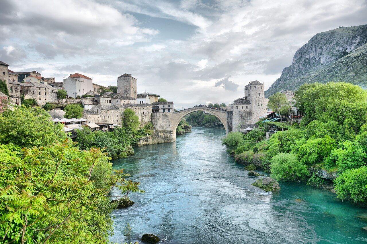 Landmarks of Bosnia and Herzegovina