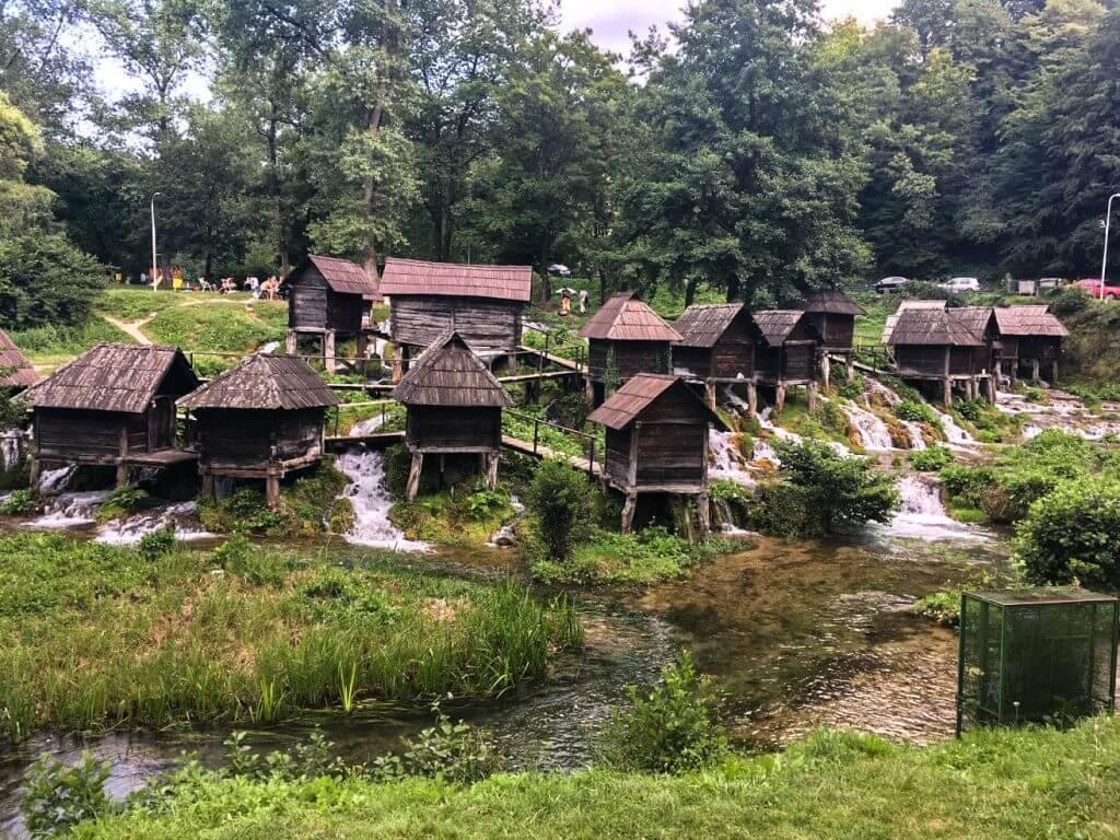 The Watermills of Jajce