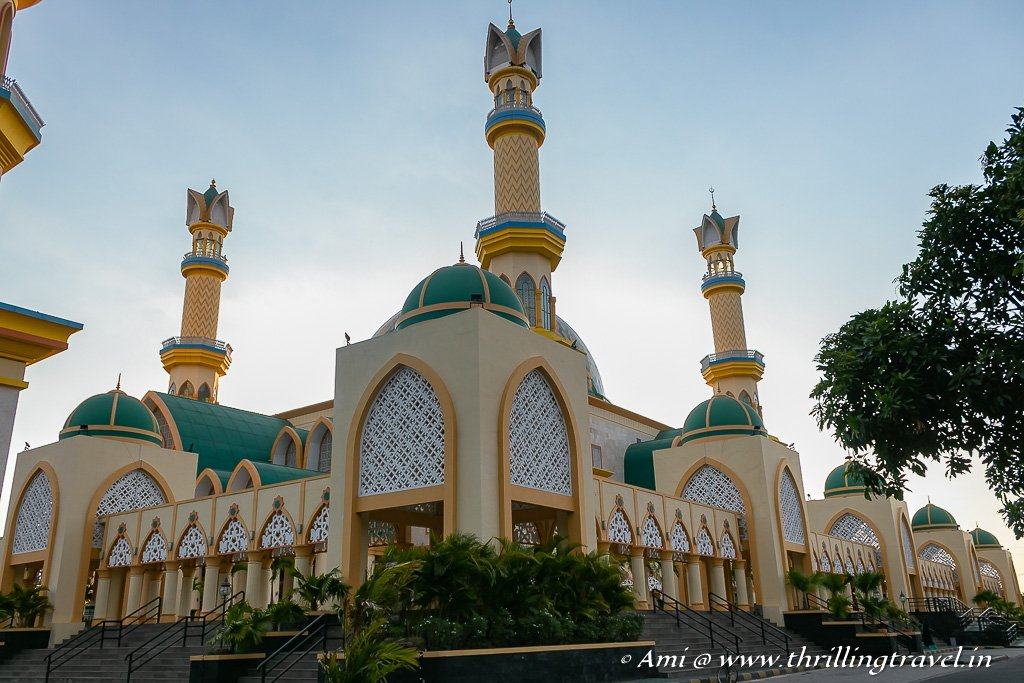 The Islamic Center Mosque in Mataram