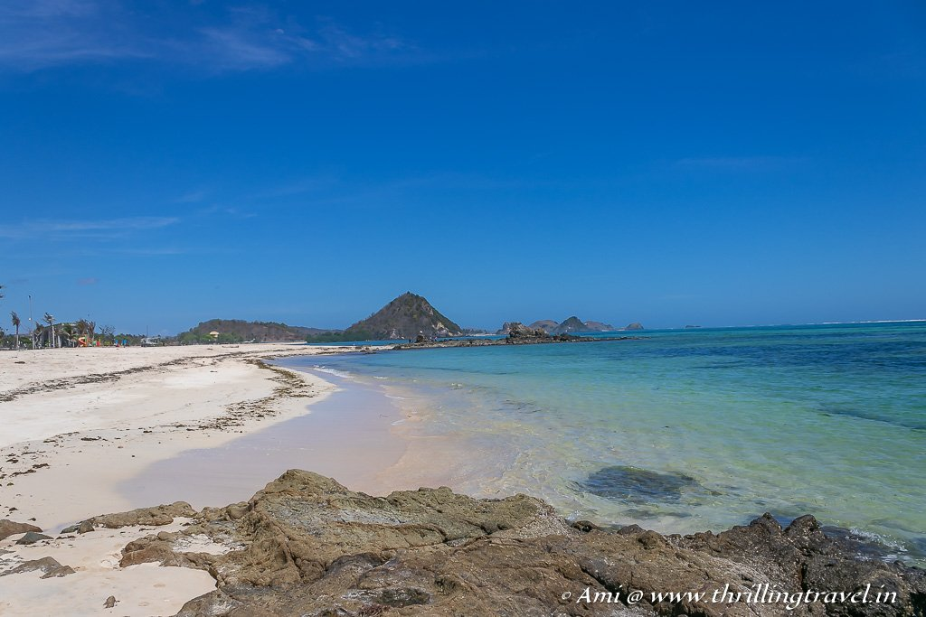 Visit the beautiful and pristine Kuta Beach - one of the key things to do in Lombok