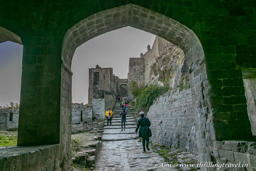 View from Ahana gate to Amiri Gate