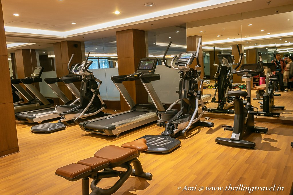 The gym for the fitness conscious