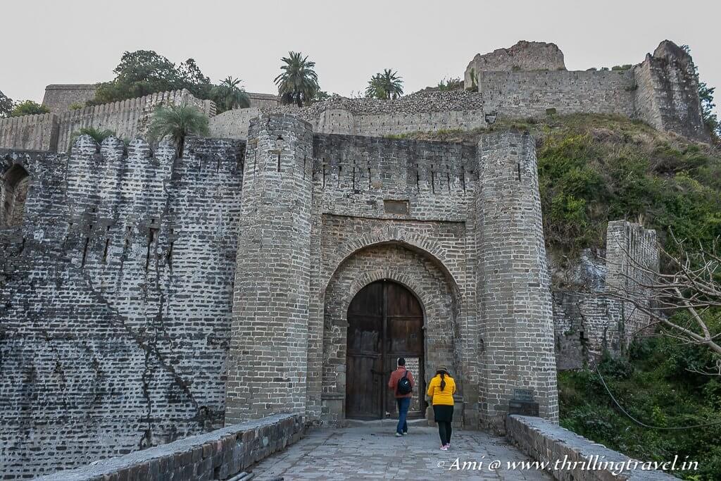 Maharaja Ranjit Singh Gate of the fort of Kangra