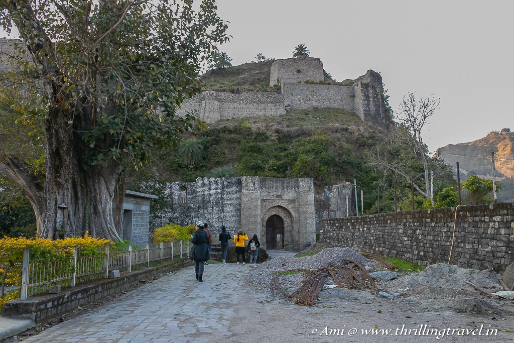 My enigmatic tour of Kangra Fort