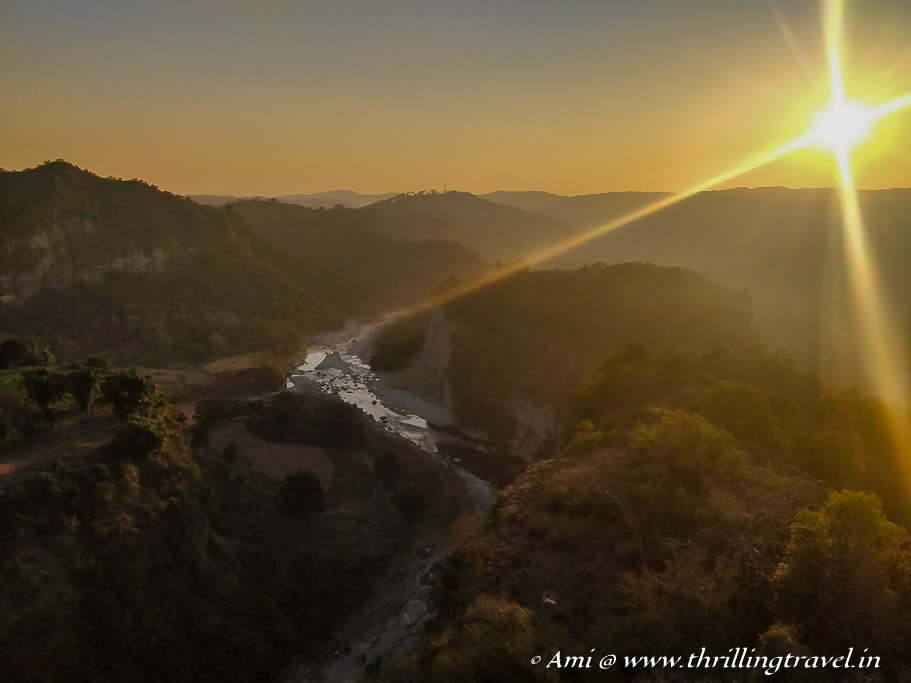 Sunset in Kangra Valley