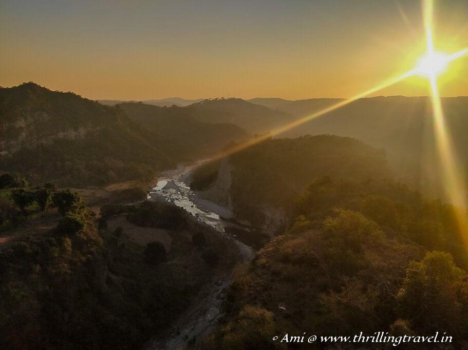 Sunset in Kangra Valley