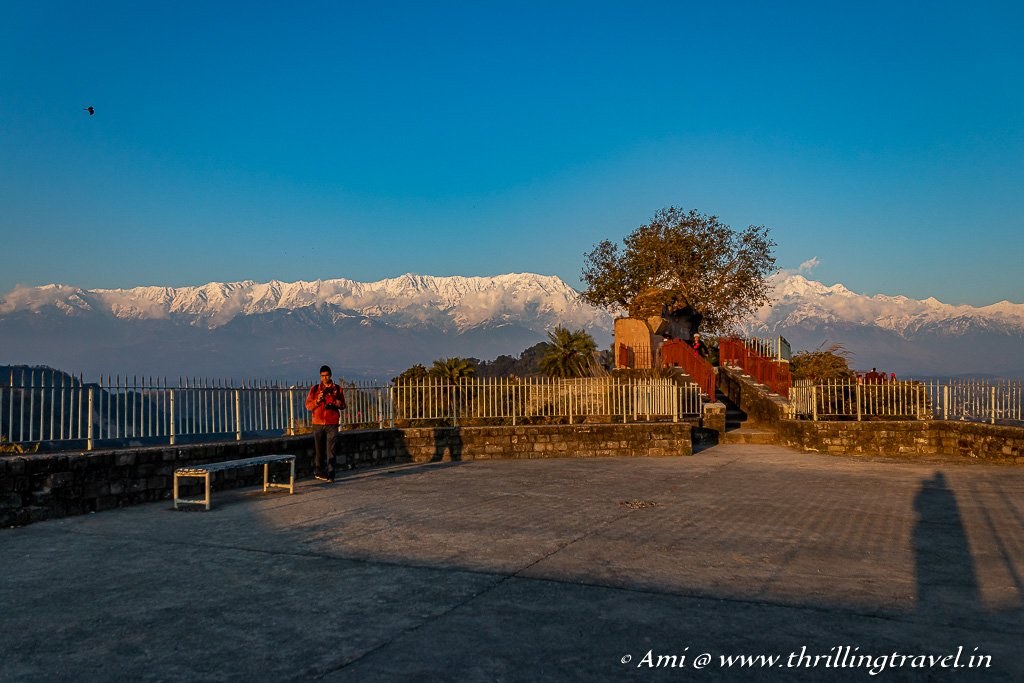 The Terrace and the highest point of Kangra Fort