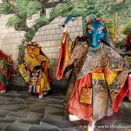Cham Dance depicted by the Losel Dolls