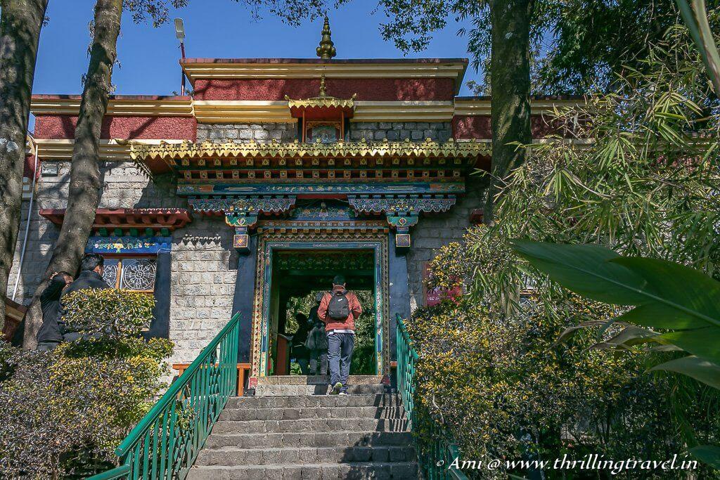 Entrance of Norbulingka Institute in Dharamshala