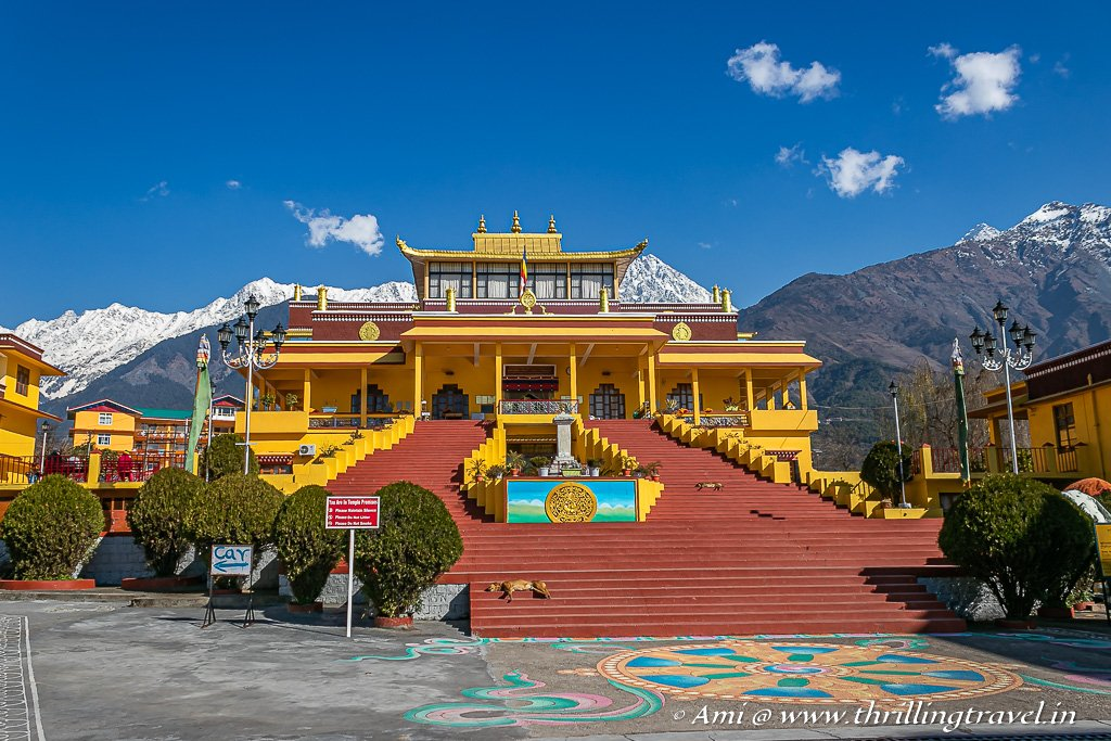One of the must-visit Dharamshala sightseeing place - Gyuto Monastery