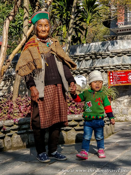 She came from Tibet ages ago...