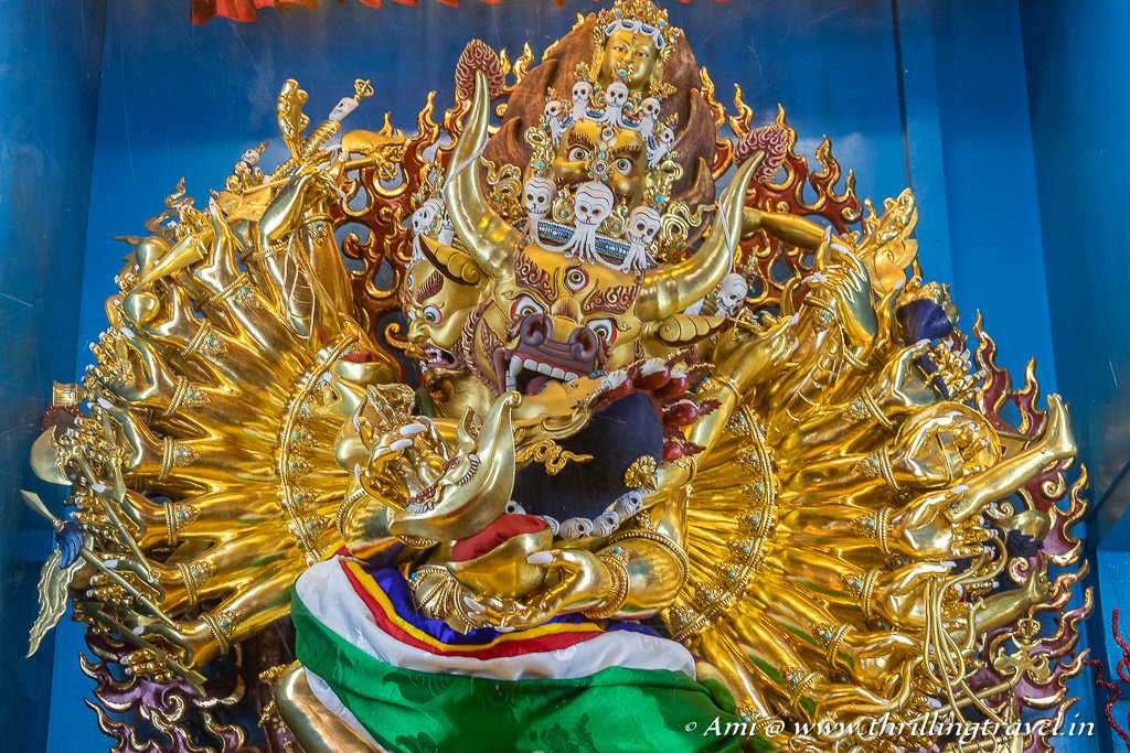 Tantric Buddhism - a part of Vajrayana branch of the religion