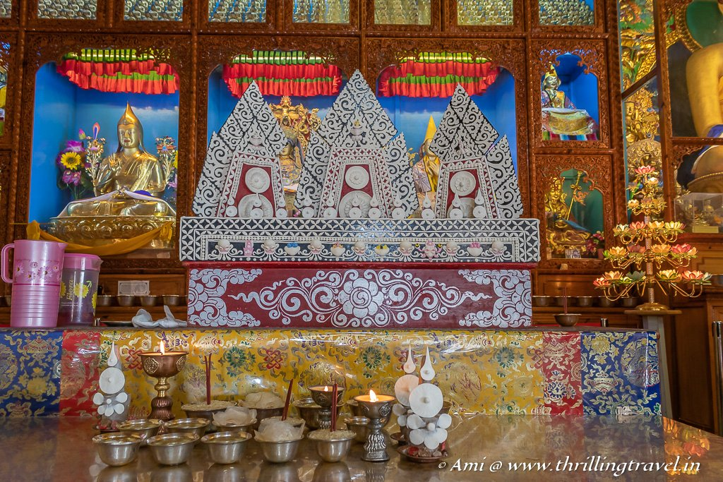 Torma or the Tibetan butter sculptures