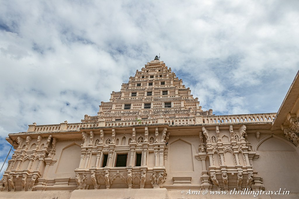The Gooda Gopuram from the base