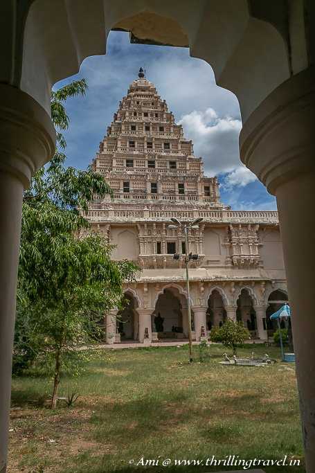 Arsenal Tower of Thanjavur Palace