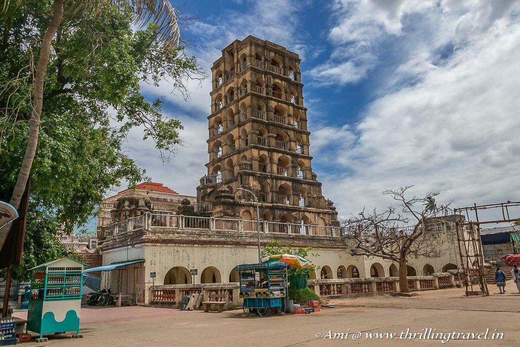 The Landmark Bell Tower of the Thanjavur Maratha Palace