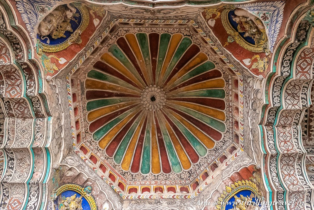 Ceiling of the Durbar Hall