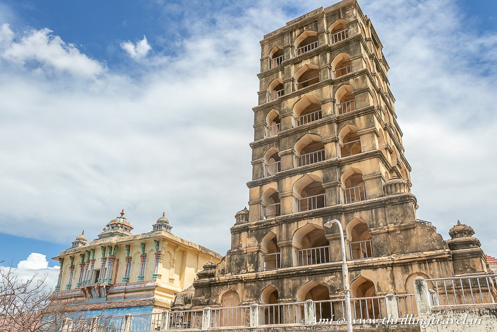 The Maadamaaligai or the Bell Tower of Tanjore Palace