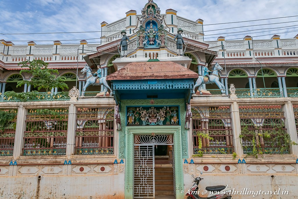 Athangudi palace in Karaikudi - one of the unmissable mansions of Chettinad