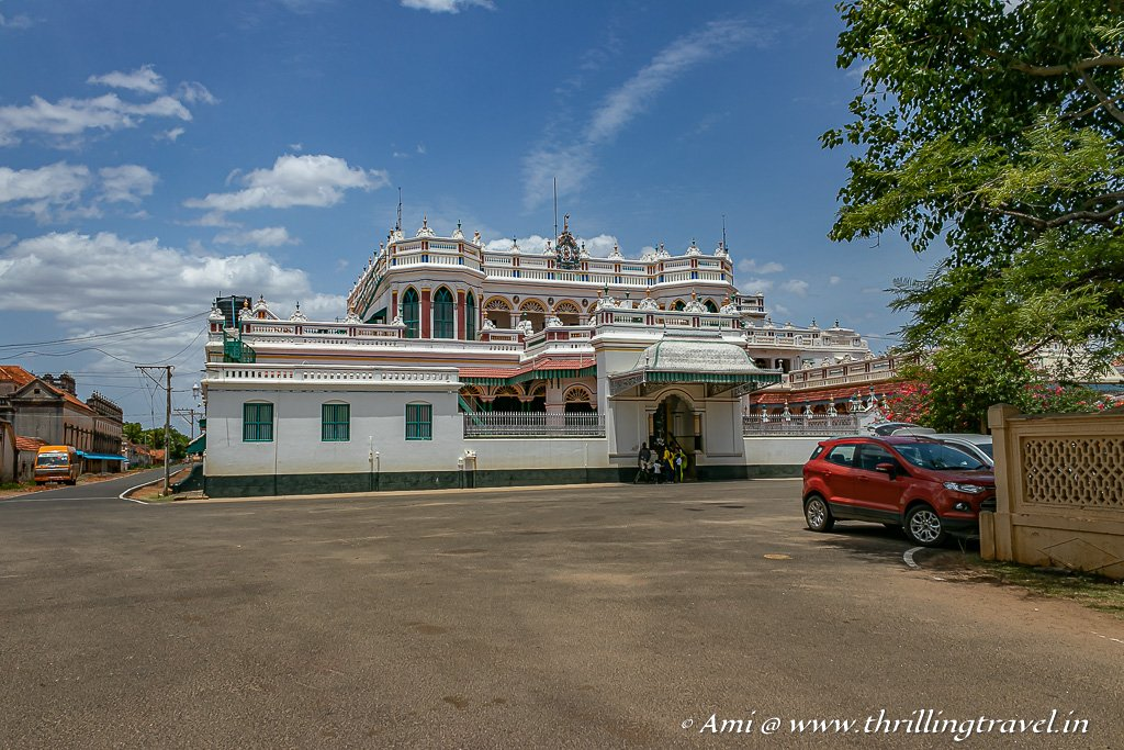 The famous Kanadukathan Palace in Chettinad