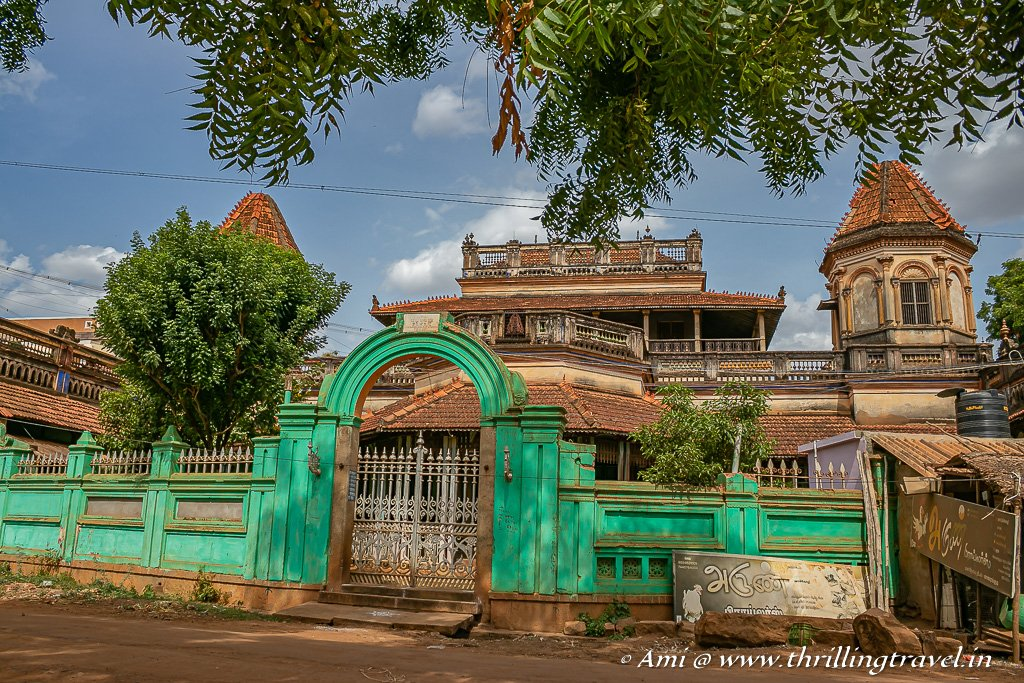 Mansion Hopping - one of the things to do in Chettinad