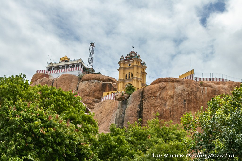 Stop by at Tiruchirapalli Rock Fort on the way to Karaikudi