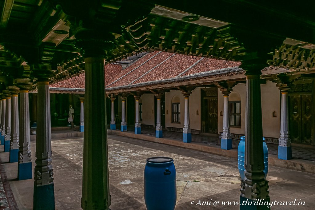 Valavu in VVR mansion - one of the Chettinad homes in Kanadukathan