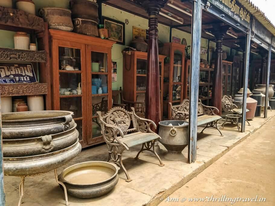 Antique Market in Karaikudi