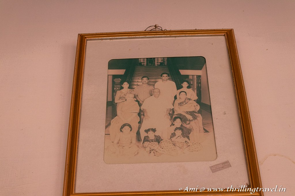 A picture of the Annamalai Chettiar Family