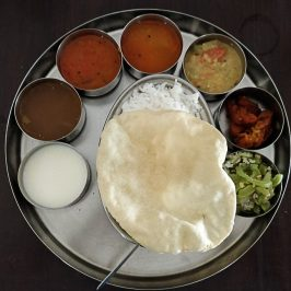 A full meal with odd number of food items - one of the cultural aspects of Chettinad Food