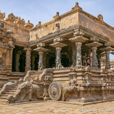 The musical notes of a Chariot – Darasuram Airavatesvara Temple