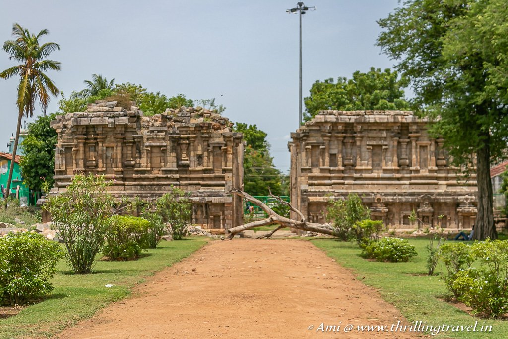 The Mahadwara at the Darasuram Airavatesvara Temple