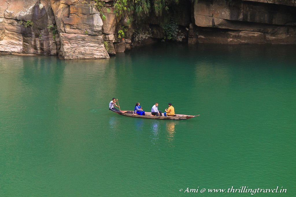 Must visit places in Mawlynnong - Dawki River