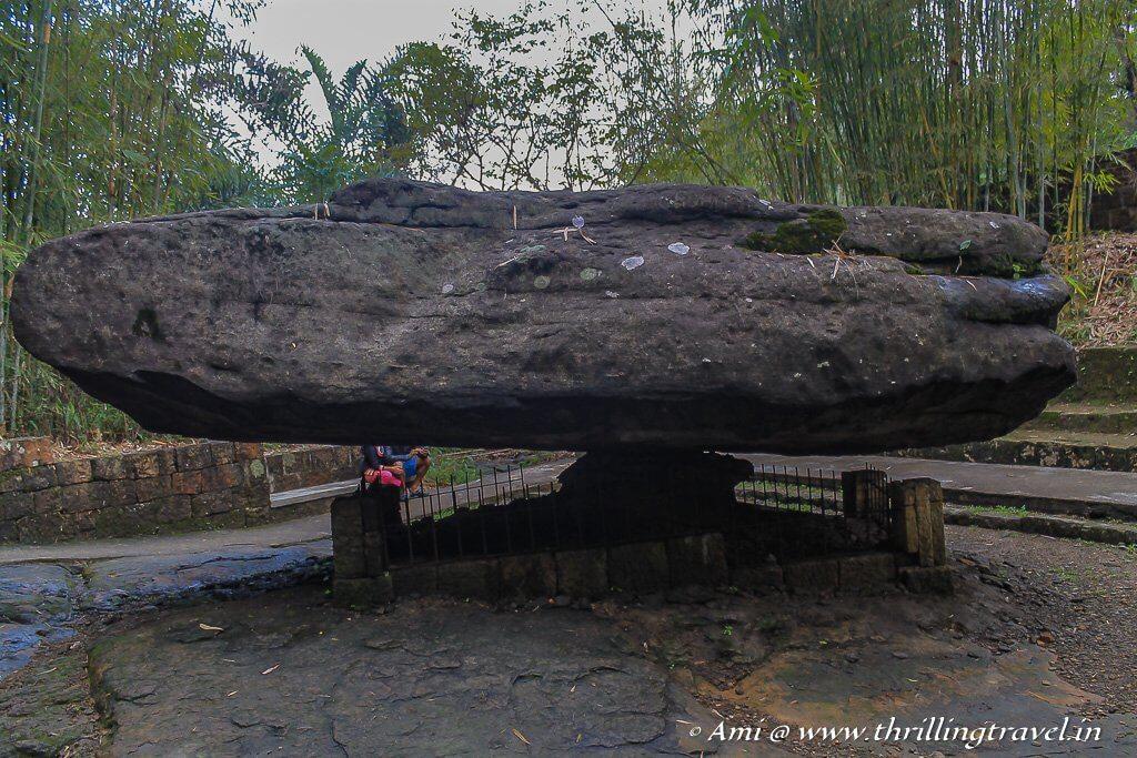 The Mawlynnong Balancing Rock