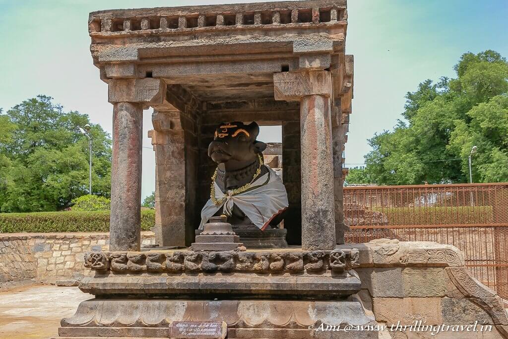 The Nandi Mandapam at the Airavateshwara Temple, Darasuram
