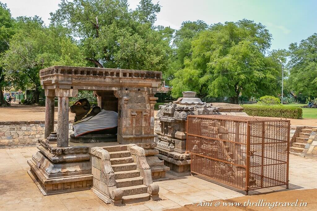 The Singing steps next to the Nandi Mandapam