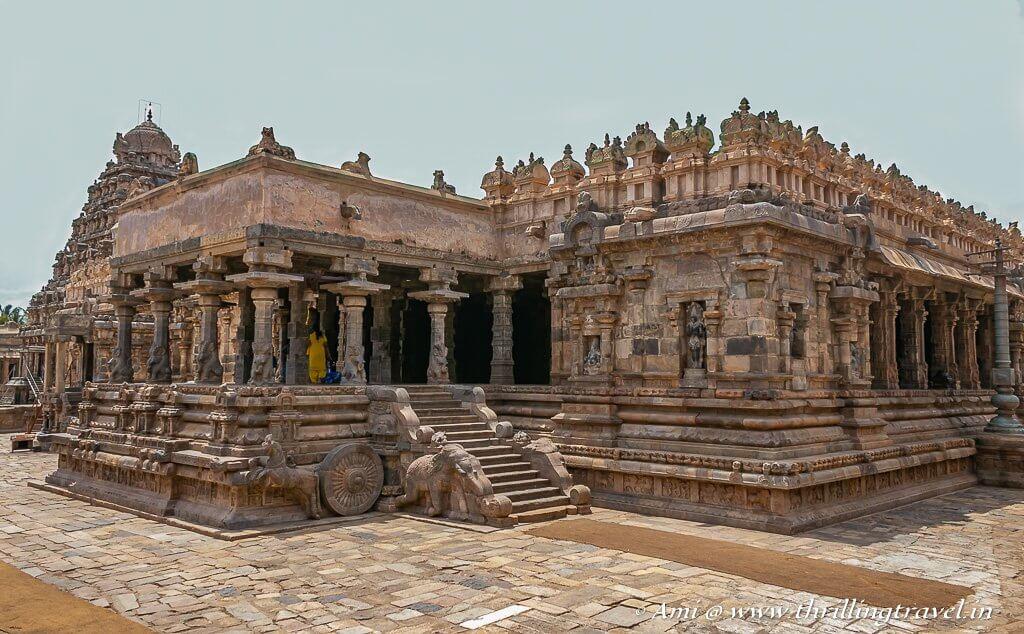 Airavatesvara Temple in Darasuram - a UNESCO World Heritage Site in India