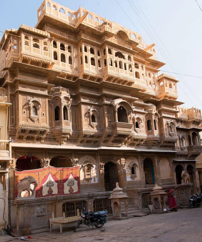 Nathmal ki Haveli in Jaisalmer