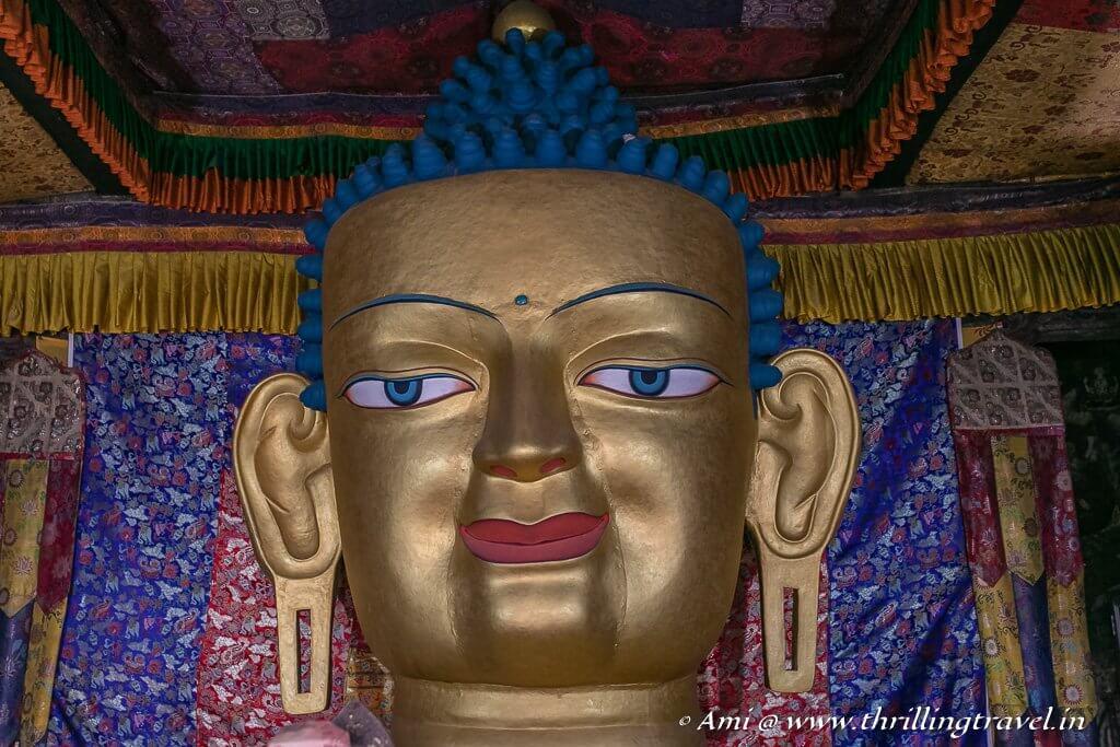Shakyamuni Buddha of Shey Monastery, Ladakh
