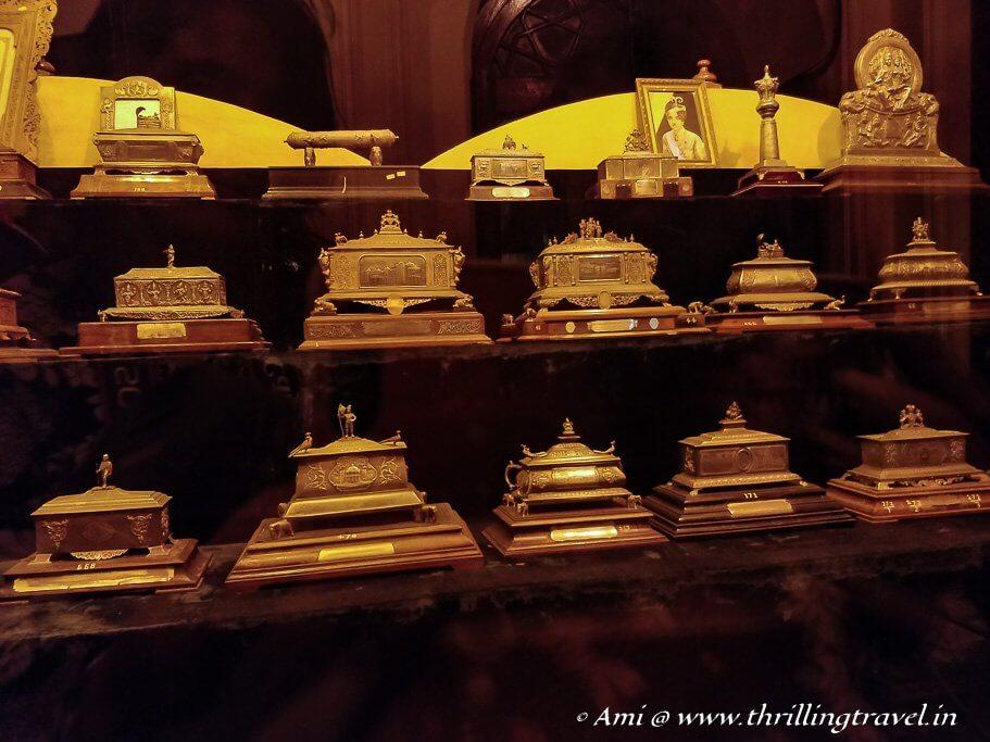 The casket room