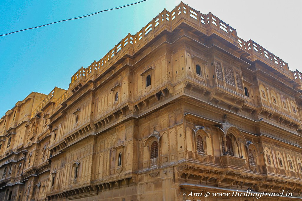 The main Patwon ki Haveli which took 55 years to build