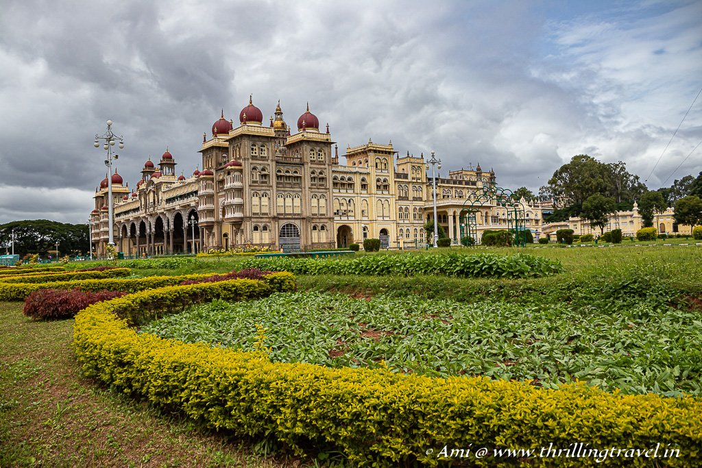 One of the most visited tourist attractions of India after the Taj Mahal - Mysore Palace