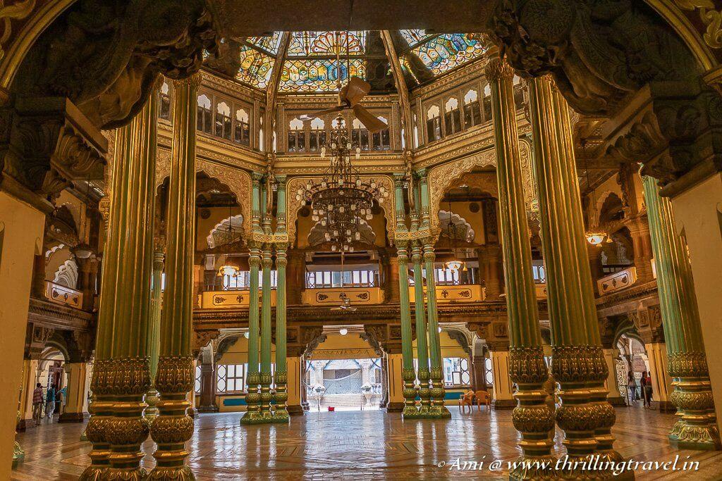 The Mysore Palace Kalyana Mantapa